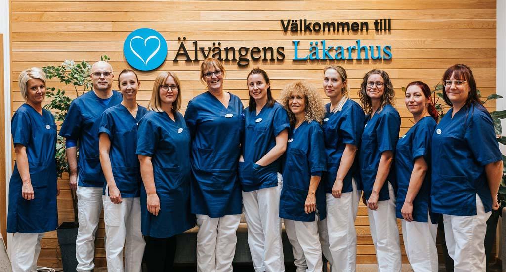 Personal Älvängens läkarhus